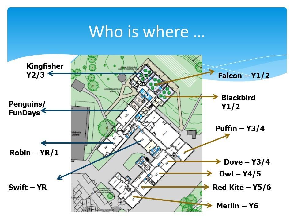 Location of classes Sep 2021